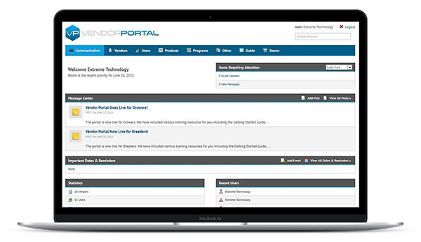 Vendor Portal Software